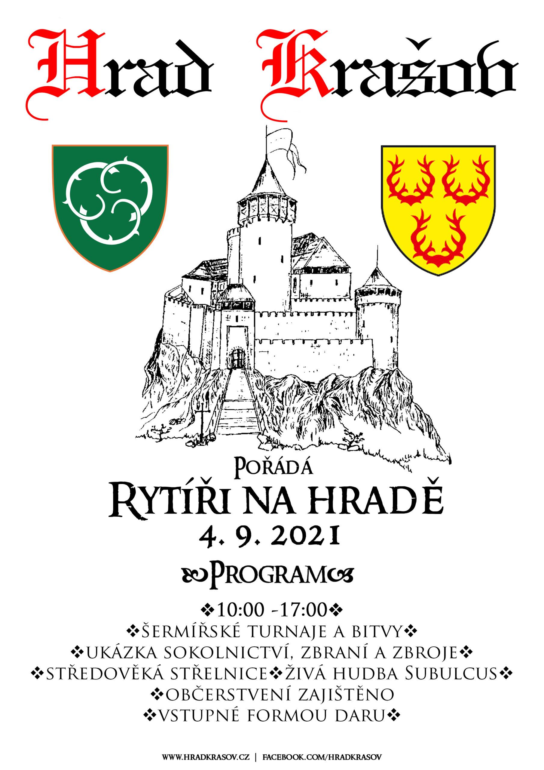 rytíři na hradě